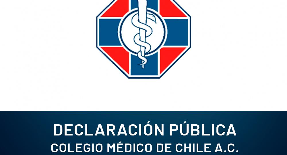 Declaracion colegio medico
